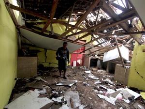 Gempa Berkekuatan 5 SR Terjadi di Lebak-Bant   en Jumat Sore Hari Ini