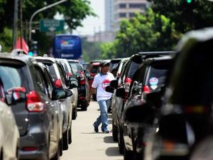 Demo Aliansi Nasional Driver Online