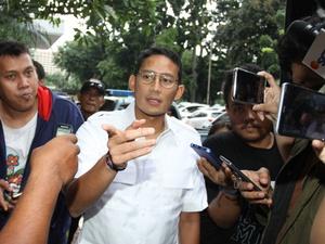 Sandiaga Ingin Pasang 60.000 CCTV di Jakarta dengan Bantuan Swasta