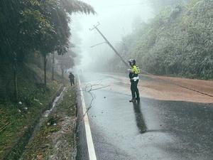 Hujan Deras Akibatkan Banjir di Kawasan Puncak Bogor