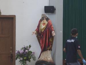 Pelaku Penyerangan Gereja Santa Lidwina Pernah Berniat ke Suriah