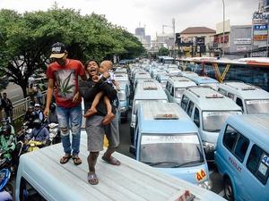 Usai Demo, Sopir Angkot M-44 dan Dishub Capai Hasil Kesepakatan