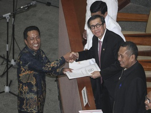PPP-Nasdem Minta Jokowi Buat Perppu untuk Batalkan Revisi UU MD3