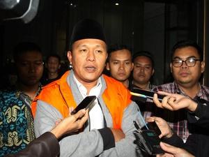 Bupati Lampung Tengah Mustafa Ditahan KPK Usai Resmi Jadi Tersangka