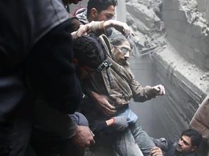 Krisis Suriah: Ghouta Darurat Medis Karena RS Sengaja Dihancurkan