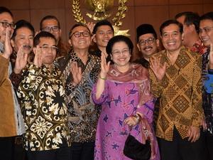Megawati Bertemu dengan Pimpinan MPR