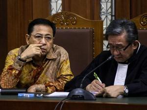 Sidang Setya Novanto Hari Ini Dengarkan Keterangan Terdakwa
