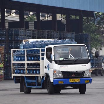 Pasar Menggiurkan Air Minum Dalam Kemasan
