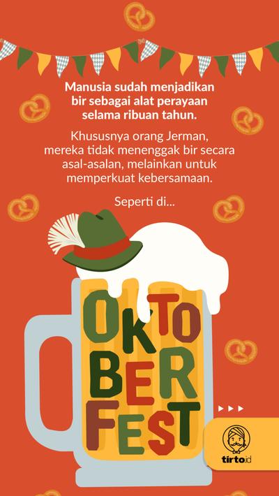 Oktoberfest dan Kegilaan pada Segelas Bir