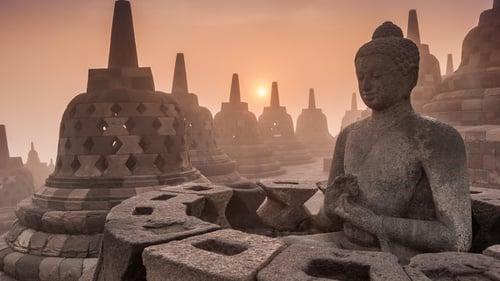 83+ Gambar Pemugaran Candi Borobudur Terlihat Keren