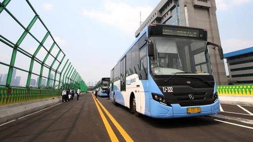 Rute Baru Transjakarta Pulogadung Harmoni Masih Sepi Penumpang