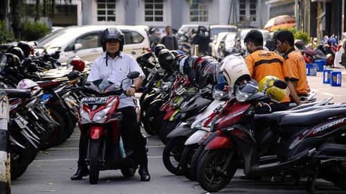 Mengurai Semrawut Parkir Ojek Online Di Dki Jakarta Tirto Id