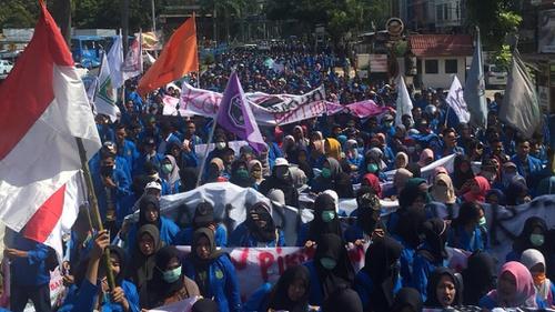Demo Mahasiswa Yang Diadakan Hari Ini