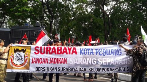Peringatan 1 Desember Papua Demo Amp Surabaya Diadang Pp