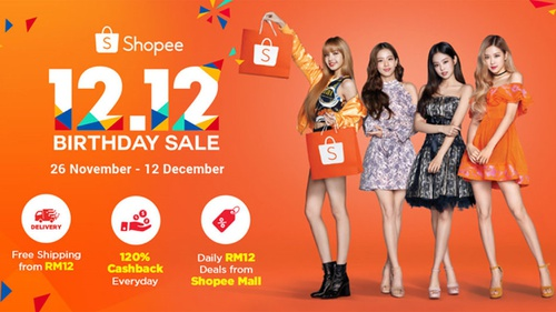 Shopee 12 12 Birthday Sale Diskon Dan Cashback Spesial Hingga 120
