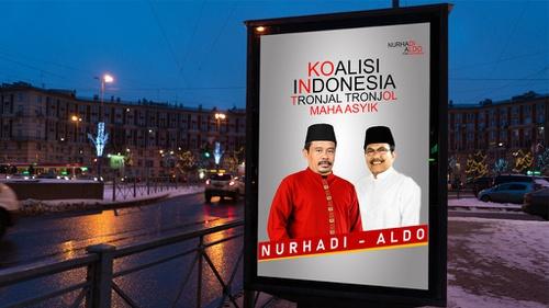 Meme Nurhadi Aldo Perlawanan atas Kejenuhan Kampanye Pilpres 2019