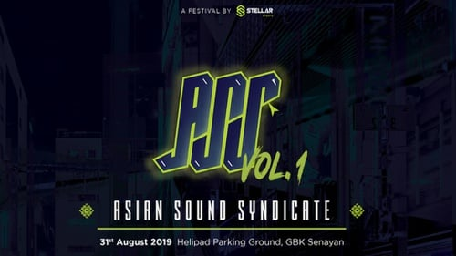 Line Up Dan Harga Tiket Asian Sound Syndicate Pada 31