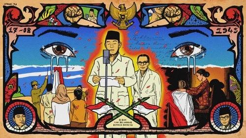 Gambar Ilustrasi Tema Kemerdekaan Indonesia Sejarah Hut Ri 17 Agustus Para Pemuda Menyokong Sukarno Hatta