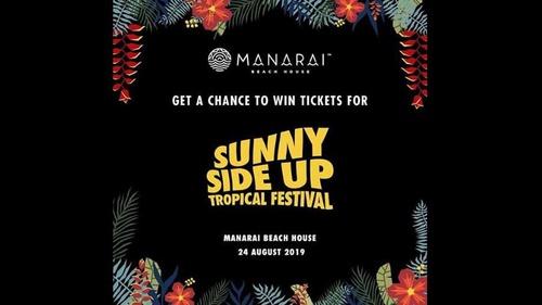 Line Up Dan Harga Tiket Sunny Side Up Tropical Festival 2019