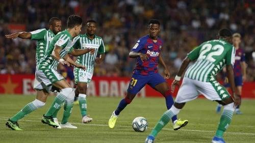 Ansu Fati Kisah Debut Sensasional Di Laga Barcelona Vs Real Betis Tirto Id
