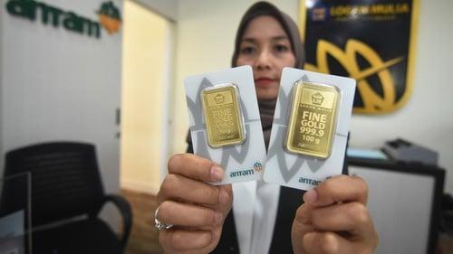 Daftar Harga Emas Hari Ini 14 November Di Pegadaian Dan Butik Antam Tirto Id
