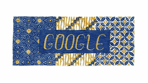 Hari Batik Nasional Motif Kawung Parang Di Google Doodle