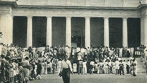Sejarah Istana Negara & Istana Merdeka: Vila di Rindang Weltevreden -  Tirto.ID