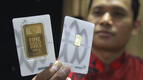 Harga Emas Antam Di Logam Mulia Dan Pegadaian Hari Ini 22 April Tirto Id