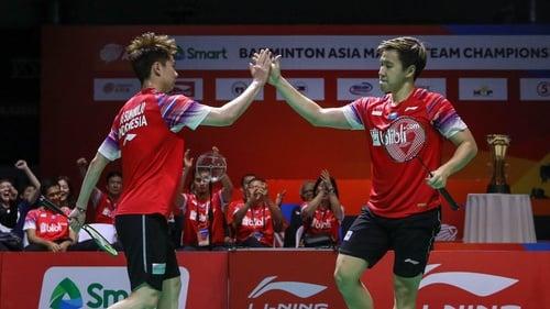 Jadwal Badminton Thailand Open 2021 Hasil Drawing Kevin Marcus Tirto Id