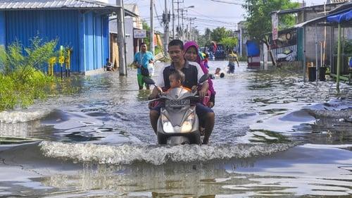 Kebon Nanas Jakarta Timur Banjir