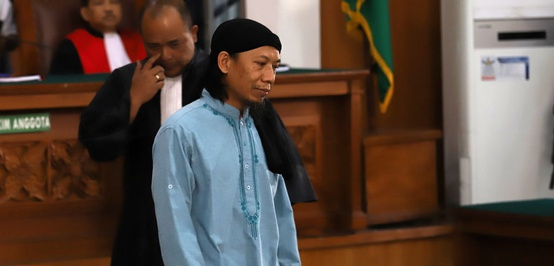 Aman Abdurrahman Divonis Hukuman Mati Sesuai Tuntutan Jaksa