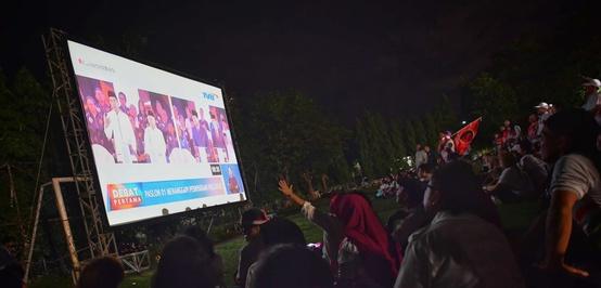 Debat Capres 2019: Prabowo-Sandi Unggul Sementara di Dunia Maya