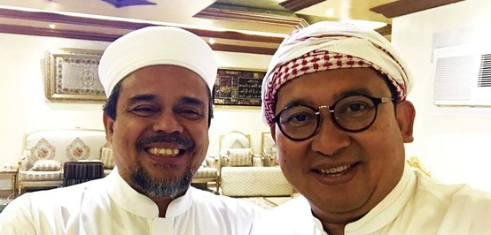 Prabowo Kalah Versi Hitung Cepat, Bagaimana Nasib Rizieq Shihab?
