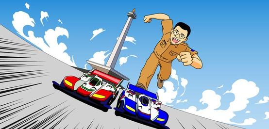 Adu Cepat: Pembangunan Sirkuit Monas Melawan Jadwal Balap Formula E