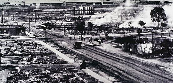 Pembantaian Tulsa 1921 Menghancurkan Bisnis Warga Kulit Hitam AS