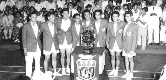 The Magnificent Seven, si Pembungkam Raksasa di Piala Thomas 1958