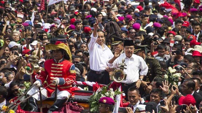 Beda Pelantikan Jokowi 2019 & 2014: Dulu Diarak, Sekarang Dikawal