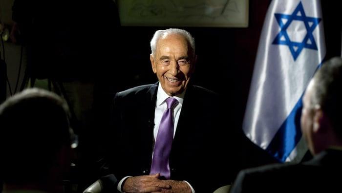 Shimon Peres [Foto/Reuters]