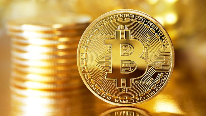 Ilustrasi bitcoin. Getty Images/iStock Editorial
