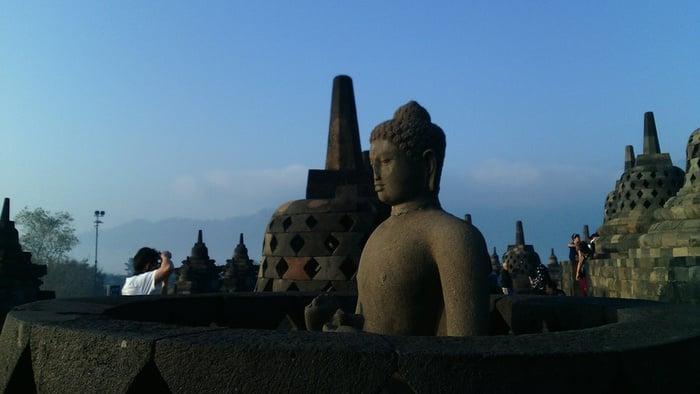 Candi Borobudur. tirto.id/ Yuthika N. Addina