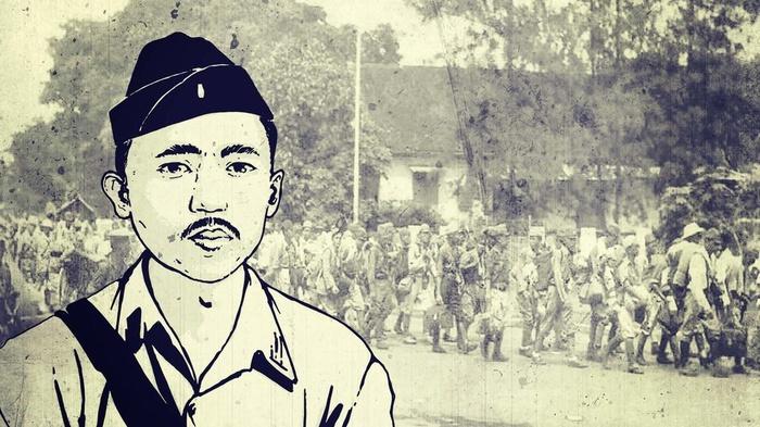 Ilustrasi I Gusti Ngurah Rai. tirto.id/Gery