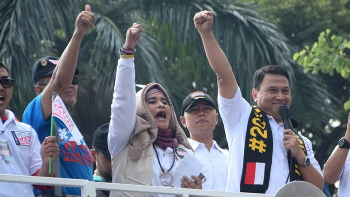 Mardani Ali Sera: #2019GantiPresiden Berpeluang Dukung Jokowi