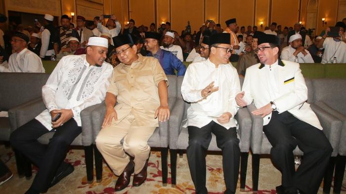 GNPF Ulama yang Tetap Dukung Prabowo Meski Tak Dianggap
