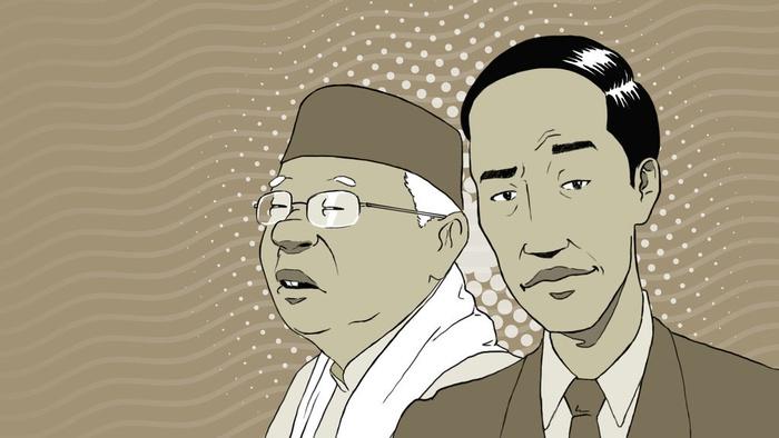 Ilustrasi Indepth Pilpres 2019: Jokowi-Ma'ruf. tirto.id/Lugas