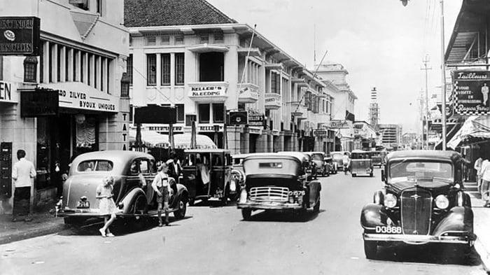 Jalan Braga, Bandung; 1935. FOTO/Wikicommon