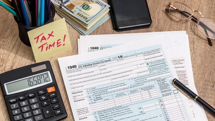 Ilustrasi pembayaran pajak. Getty Images/iStockphoto