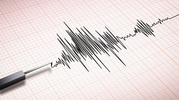 Ilustrasi gempa bumi. FOTO/iStockphoto