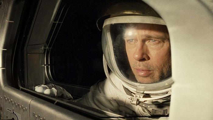 Brad Pitt in Ad Astra (2019). foto/imdb