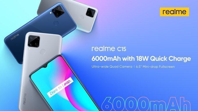 Realme C15 dan Realme C11