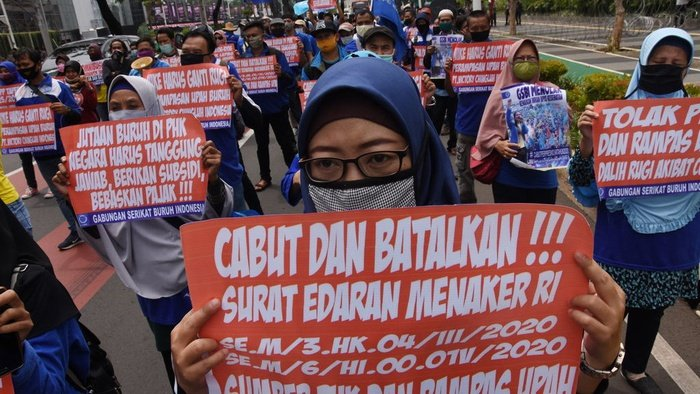 Buruh Diabaikan Pertanda Omnibus Law adalah Agenda Elite Belaka